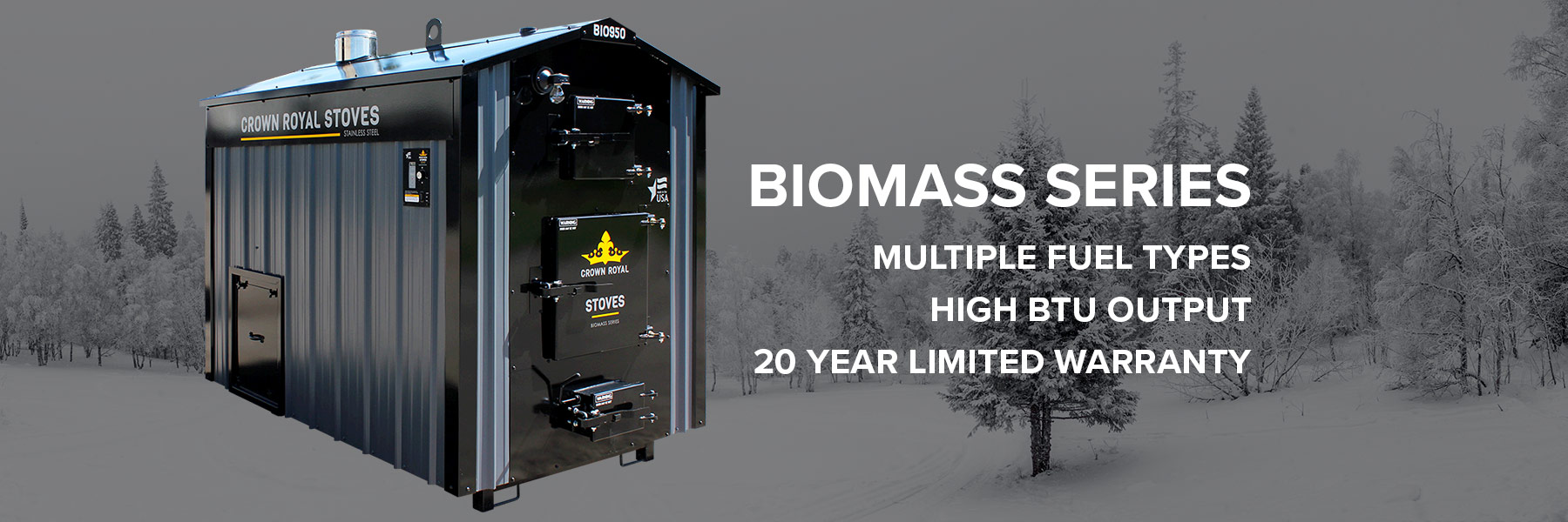 automated biomass wood boiler