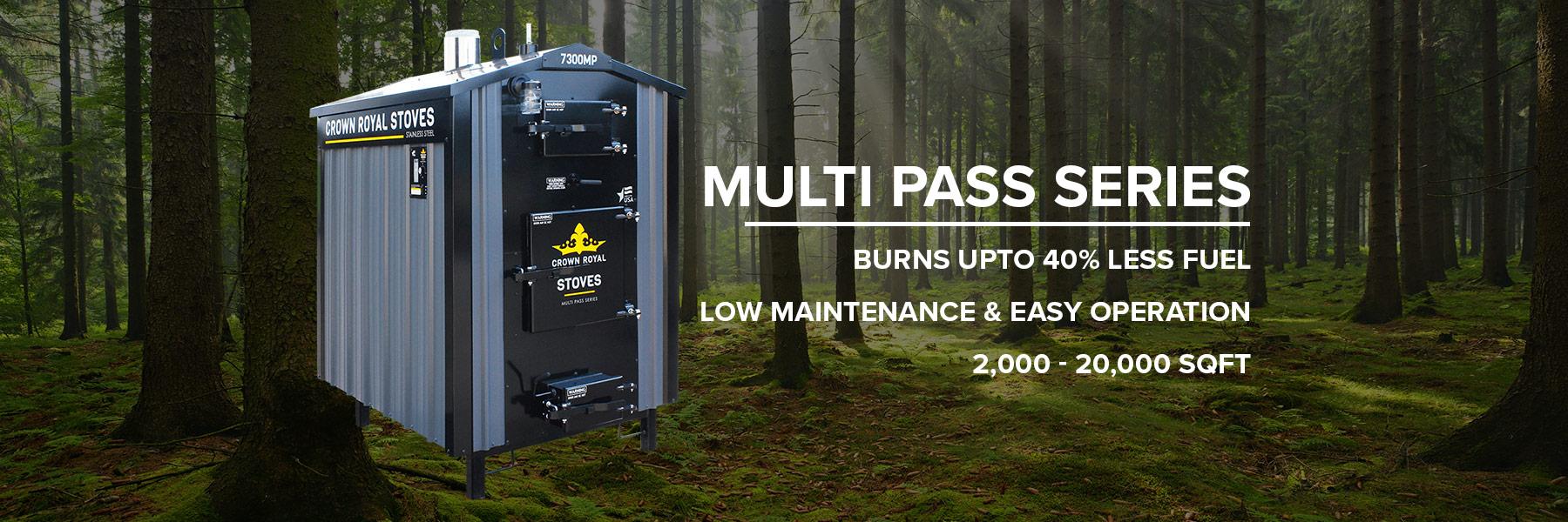 MultiPass Wood Boiler Outdoor